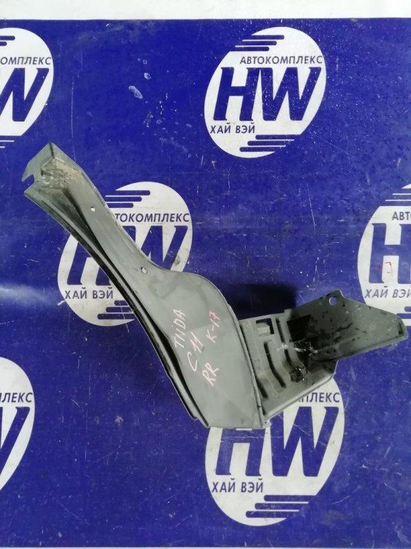Подкрылок Nissan Tiida C11 HR15 задний правый (б/у)