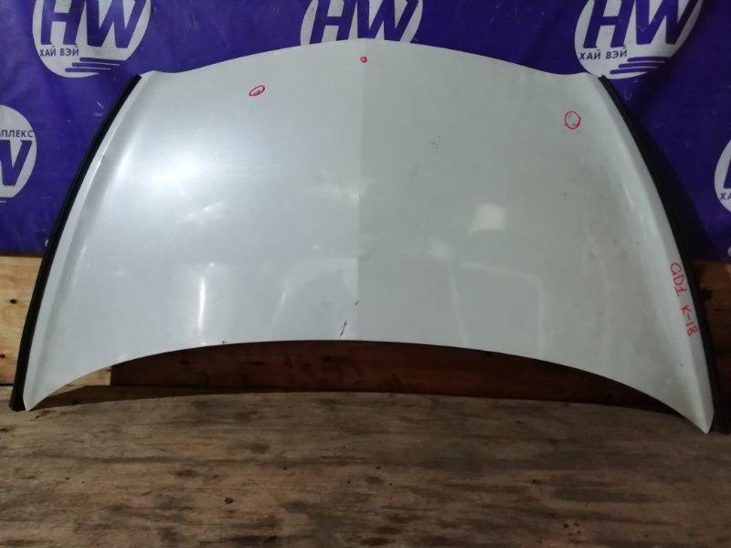 Капот Honda Fit GD1 L13A 2001 (б/у)