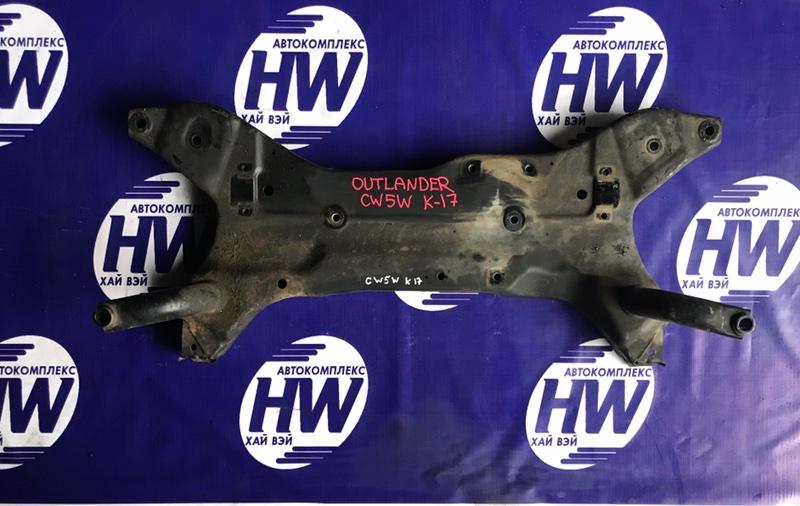Балка под двс Mitsubishi Outlander CW5W 4B12 (б/у)