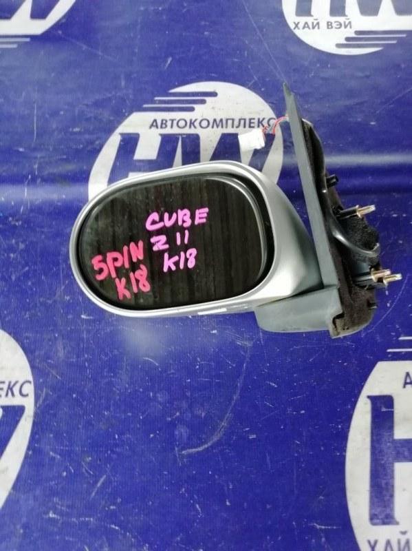 Зеркало Nissan Cube BZ11 CR14 левое (б/у)