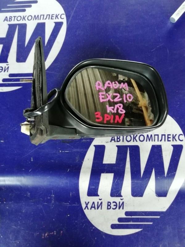 Зеркало Toyota Raum EXZ10 5E правое (б/у)