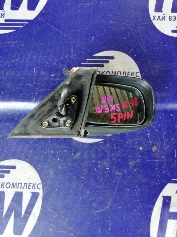 Зеркало Toyota Altezza SXE10 3SGE правое (б/у)