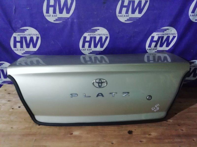 Крышка багажника Toyota Platz SCP11 1SZ 2000 (б/у)