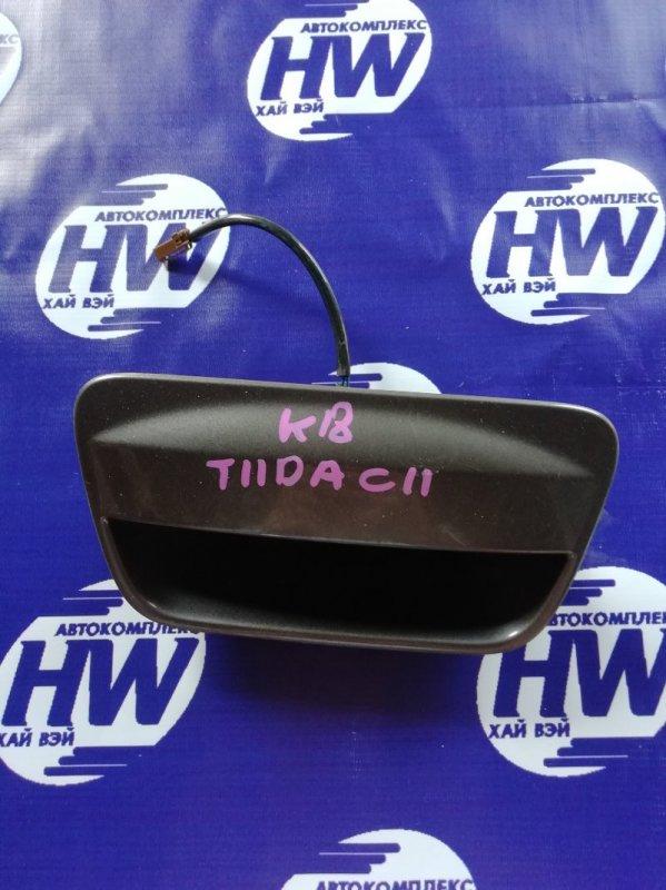 Ручка задней двери Nissan Tiida C11 HR15 (б/у)