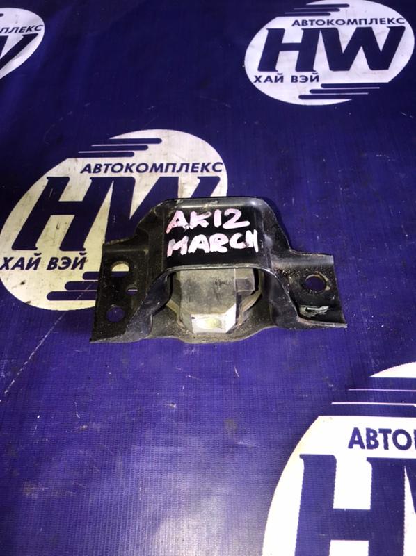 Подушка двс Nissan March AK12 CR12 правая (б/у)