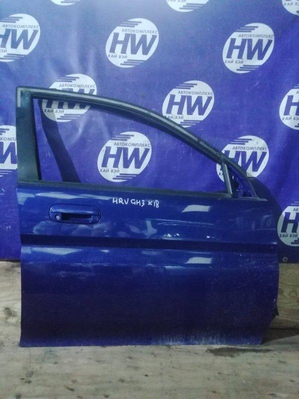 Дверь Honda Hr-V GH3 D16A 2003 передняя правая (б/у)