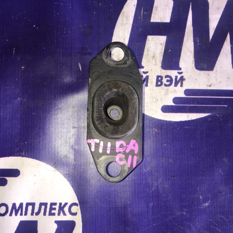 Подушка двс Nissan Tiida C11 HR15 задняя (б/у)