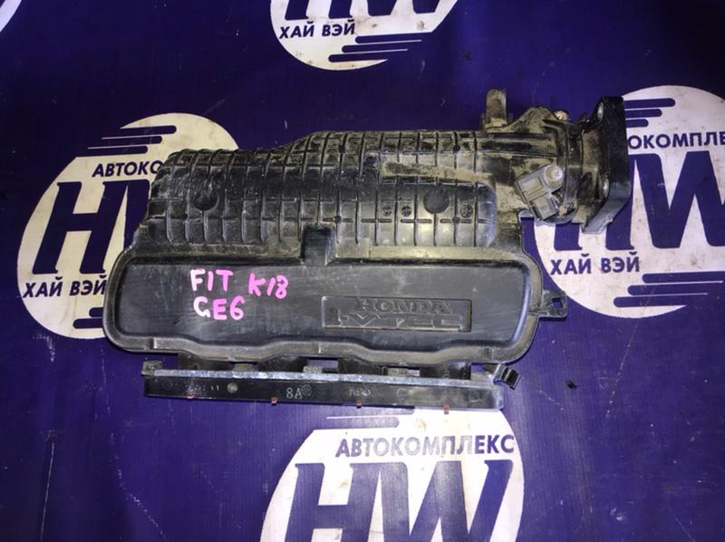 Коллектор впускной Honda Fit GE6 L13A 2011 (б/у)