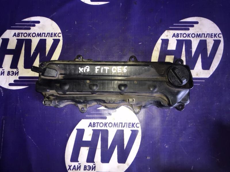 Клапанная крышка Honda Fit GE6 L13A 2011 (б/у)