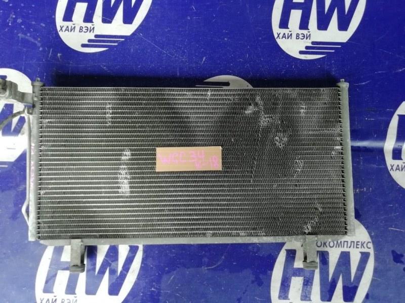 Радиатор кондиционера Nissan Stagea WGC34 RB25DE (б/у)