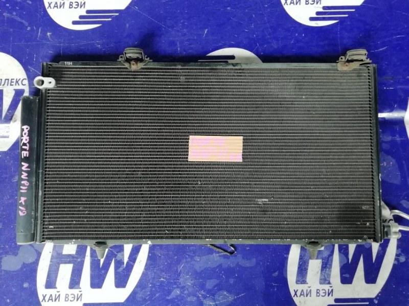 Радиатор кондиционера Toyota Porte NNP10 2NZ (б/у)