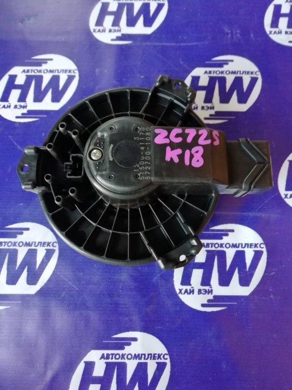 Мотор печки Suzuki Swift ZC72S K12B 2011 (б/у)