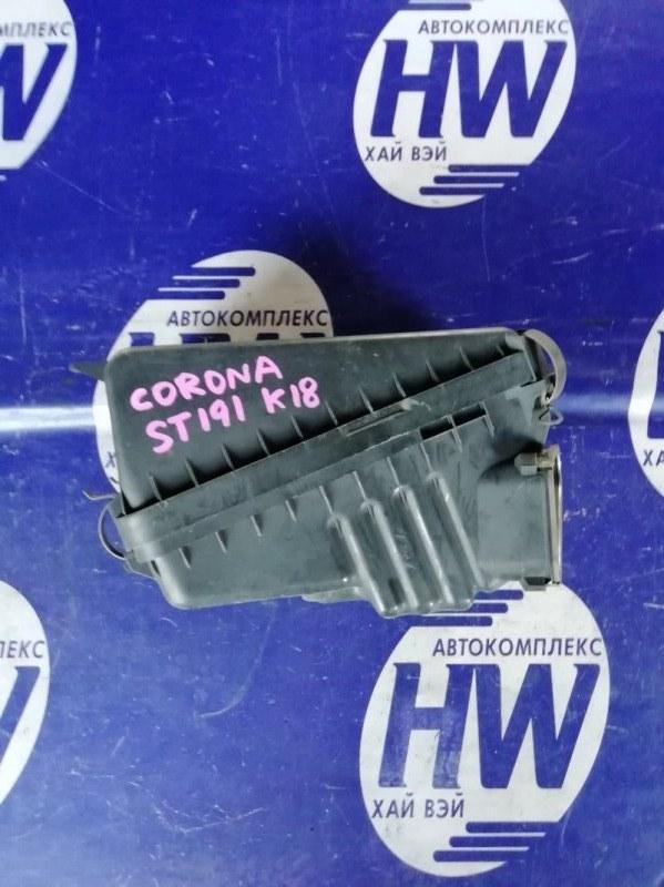 Корпус воздушного фильтра Toyota Corona ST191 3S 1995 (б/у)