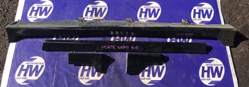 Порог Toyota Porte NNP11 1NZ (б/у)