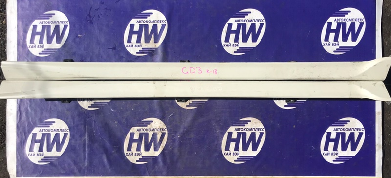 Порог Honda Fit GD1 L13A 2001 (б/у)