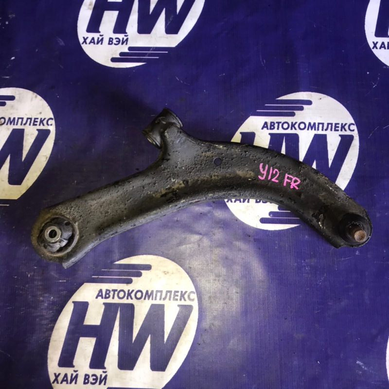 Рычаг Nissan Wingroad Y12 HR15 передний правый (б/у)