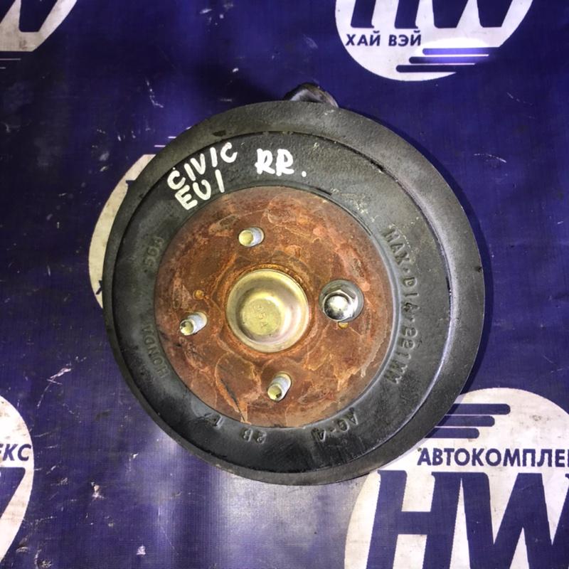 Ступица Honda Civic EU1 D15B задняя правая (б/у)