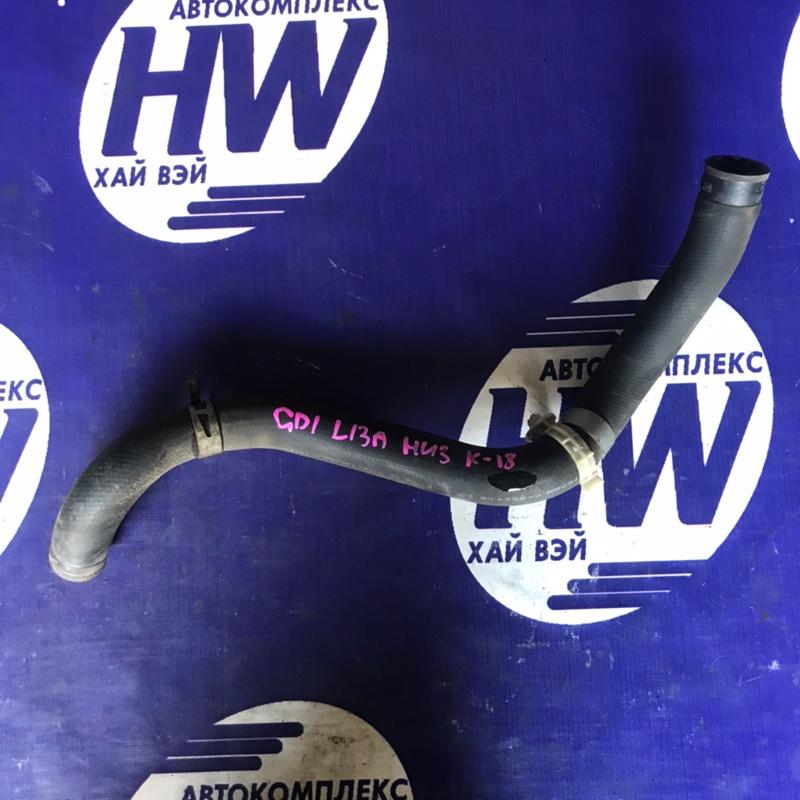 Патрубок радиатора Honda Fit GD1 L13A нижний (б/у)