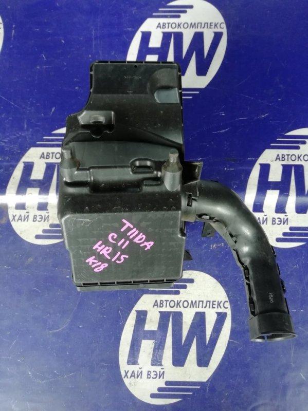 Корпус воздушного фильтра Nissan Tiida C11 HR15 (б/у)