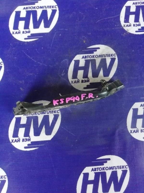 Крепление бампера Toyota Vitz KSP90 1KR переднее правое (б/у)