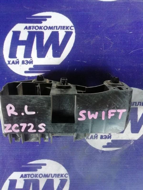 Крепление бампера Suzuki Swift ZC72S K12B 2011 заднее левое (б/у)