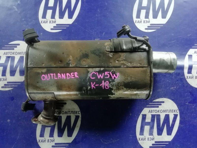 Глушитель Mitsubishi Outlander CW5W 4B12 (б/у)