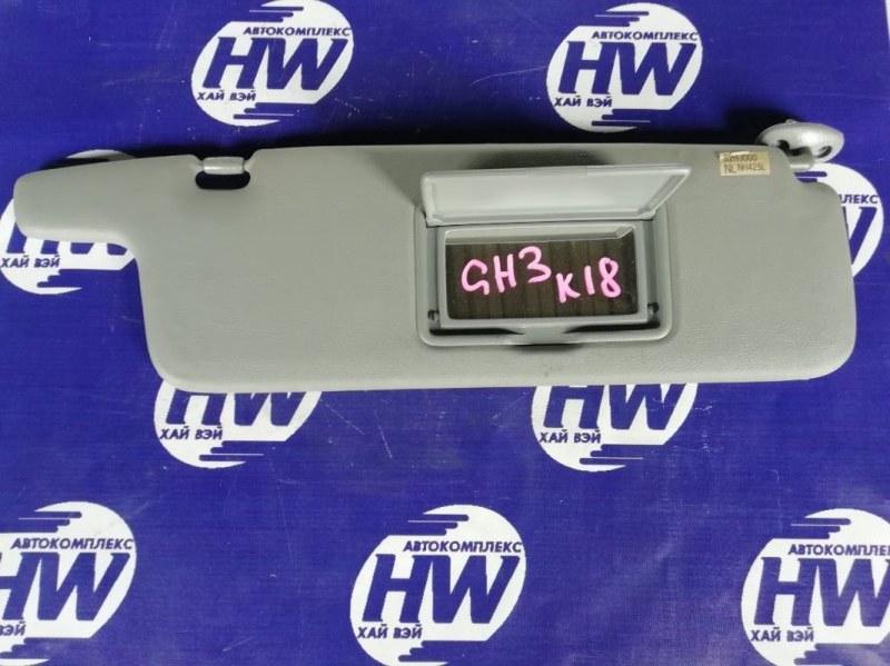 Козырек солнцезащитный Honda Hr-V GH3 D16A 2003 правый (б/у)
