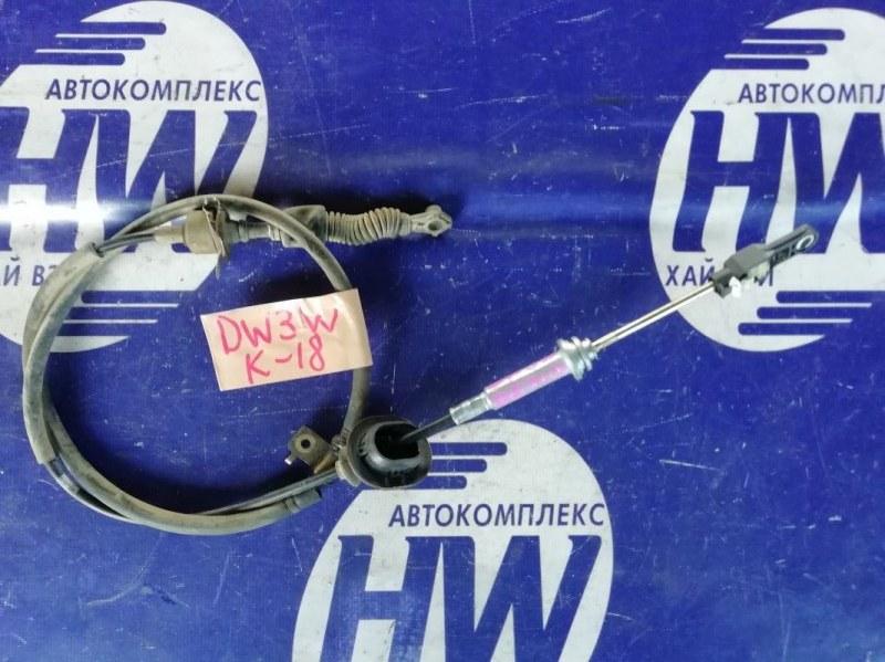 Трос переключения акпп Mazda Demio DW3W B3 2000 (б/у)