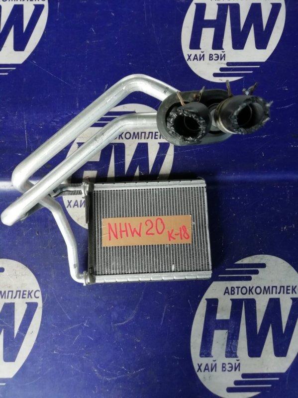 Радиатор печки Toyota Prius NHW20 1NZFXE 2007 (б/у)