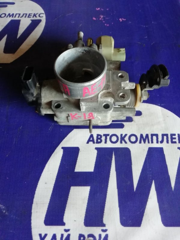 Дроcсельная заслонка Toyota Sprinter AE110 5A 1997 (б/у)