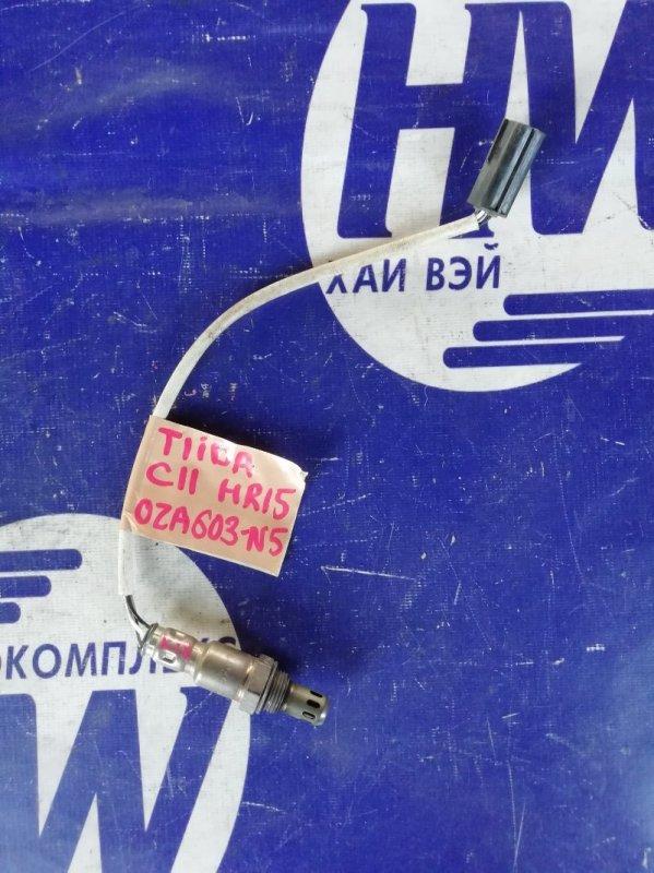 Лямбда-зонд Nissan Tiida C11 HR15 (б/у)