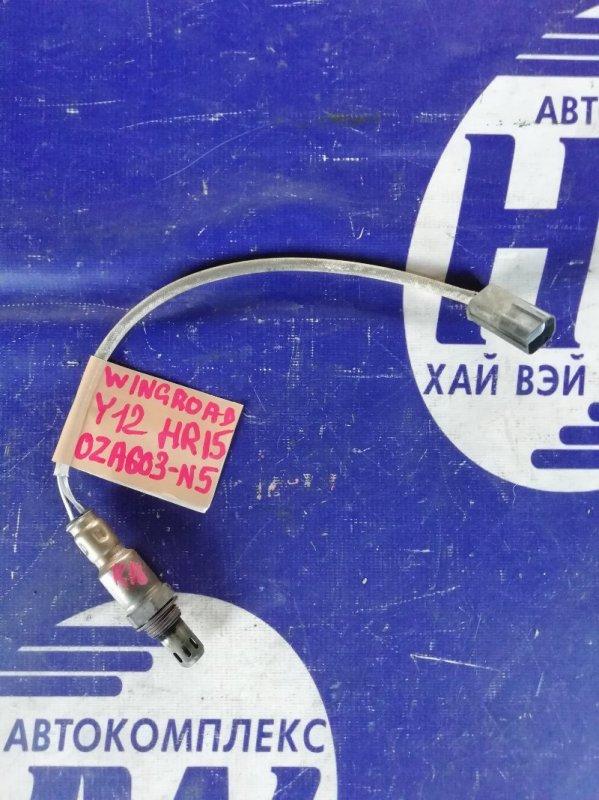 Лямбда-зонд Nissan Wingroad Y12 HR15 (б/у)