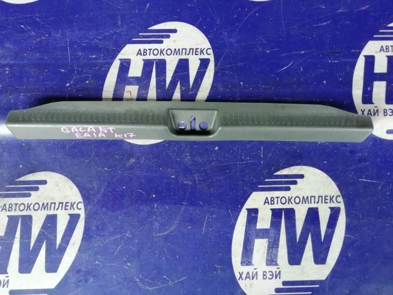 Накладка замка багажника Mitsubishi Galant EA1A 4G93 (б/у)