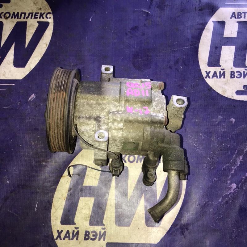 Компрессор кондиционера Nissan Ad VFY11 QG15 (б/у)