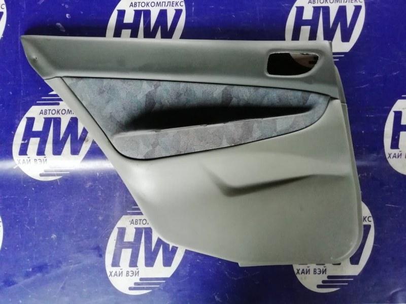 Обшивка двери Mitsubishi Galant EA1A 4G93 задняя левая (б/у)