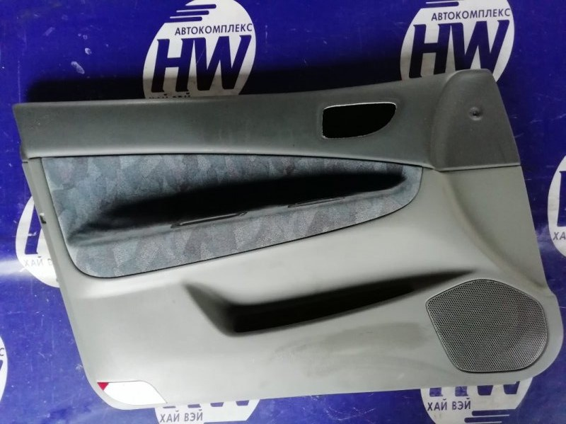 Обшивка двери Mitsubishi Galant EA1A 4G93 передняя левая (б/у)