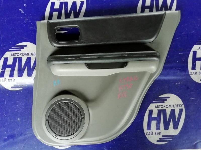Обшивка двери Nissan X-Trail NT30 QR20 задняя правая (б/у)