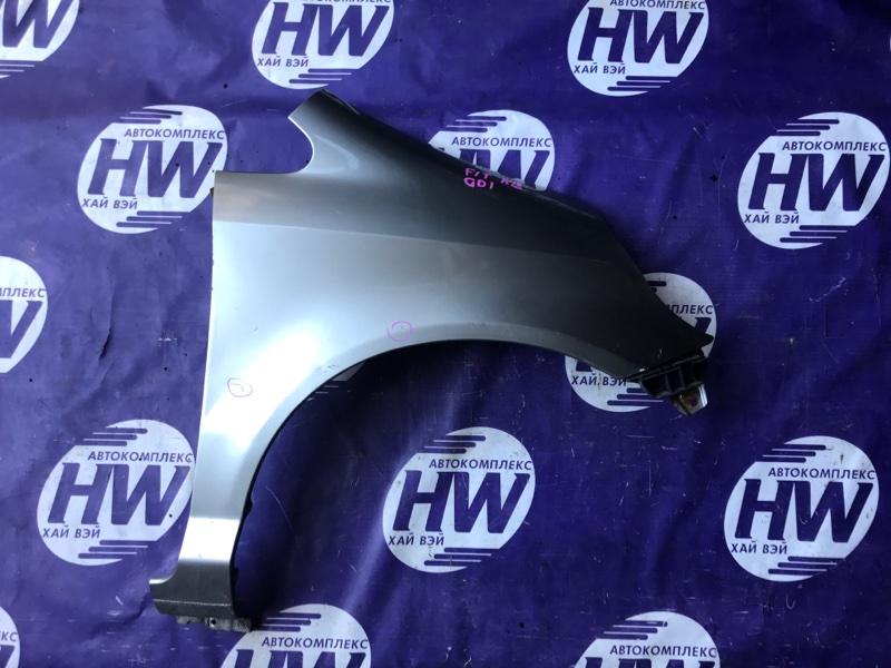 Крыло Honda Fit GD1 L13A 2001 переднее правое (б/у)