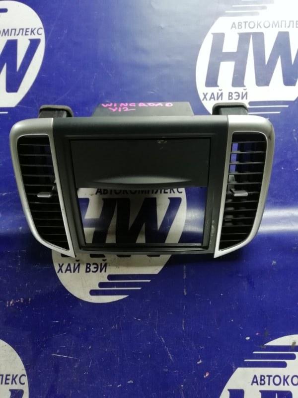 Консоль магнитофона Nissan Wingroad Y12 HR15 (б/у)