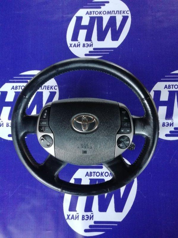 Руль Toyota Prius NHW20 1NZFXE 2007 (б/у)