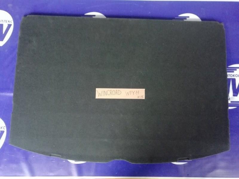 Коврик багажника Nissan Wingroad VFY11 QG15 (б/у)
