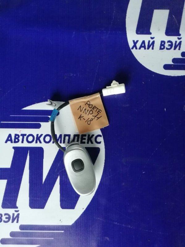 Ручка задней двери Toyota Porte NNP10 2NZ (б/у)