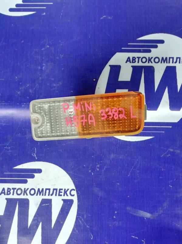 Повторитель в бампер Mitsubishi Pajero Mini H56A 4A30 левый (б/у)
