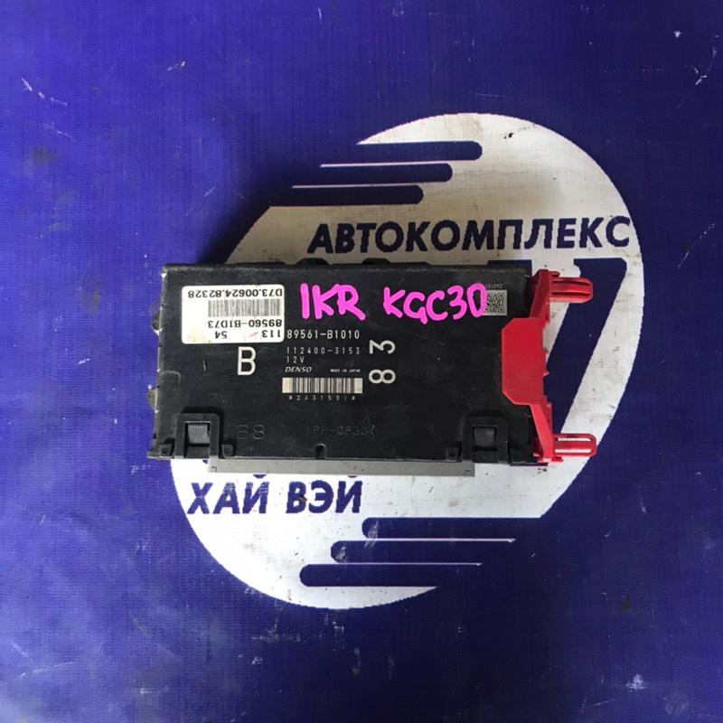 Компьютер двс Toyota Passo KGC30 1KR (б/у)