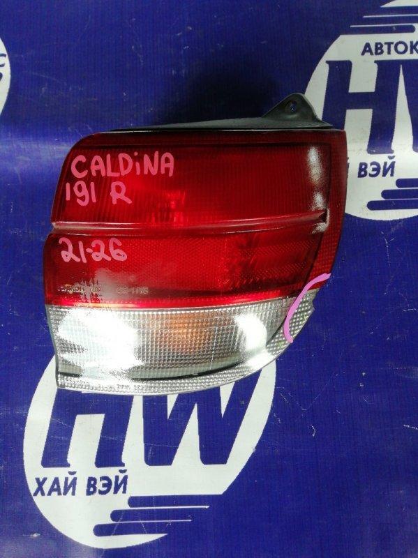 Стоп Toyota Caldina ST191 3S правый (б/у)