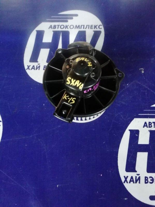 Мотор печки Toyota Rav4 SXA10 3SFE 1997 (б/у)