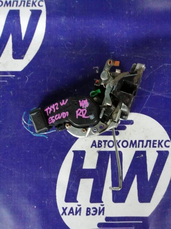 Замок двери Suzuki Grand Escudo TX92W H27A 2001 задний правый (б/у)