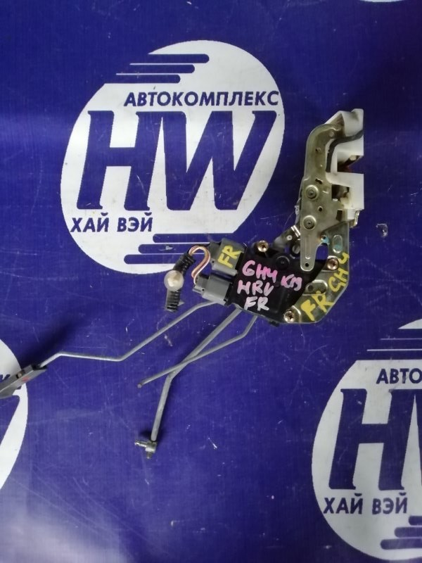 Замок двери Honda Hr-V GH4 D16A 1999 передний правый (б/у)