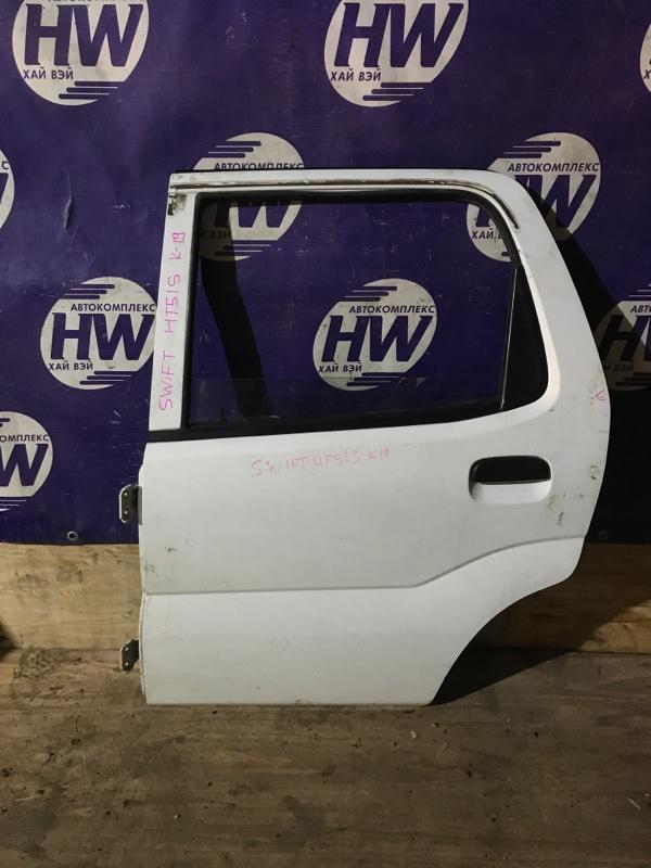 Дверь Suzuki Swift HT51S M13A задняя левая (б/у)
