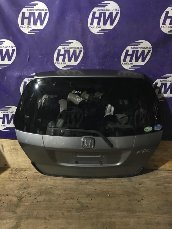 Дверь 5-я Honda Fit GD1 L13A 2006 (б/у)